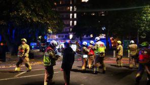 Fire at Westbridge Road in Battersea, London