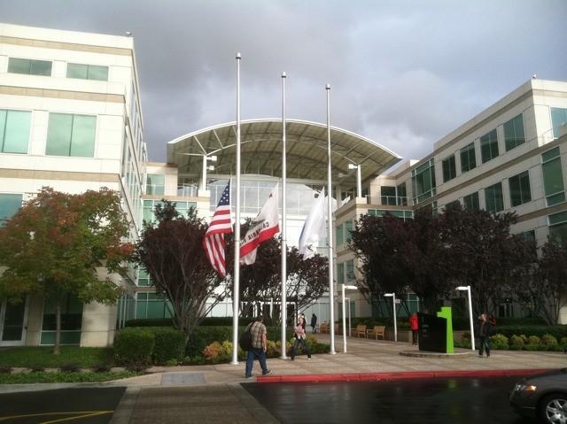 Flags at half-mast
