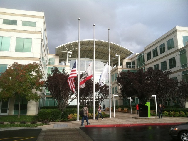 Flags at half-mast