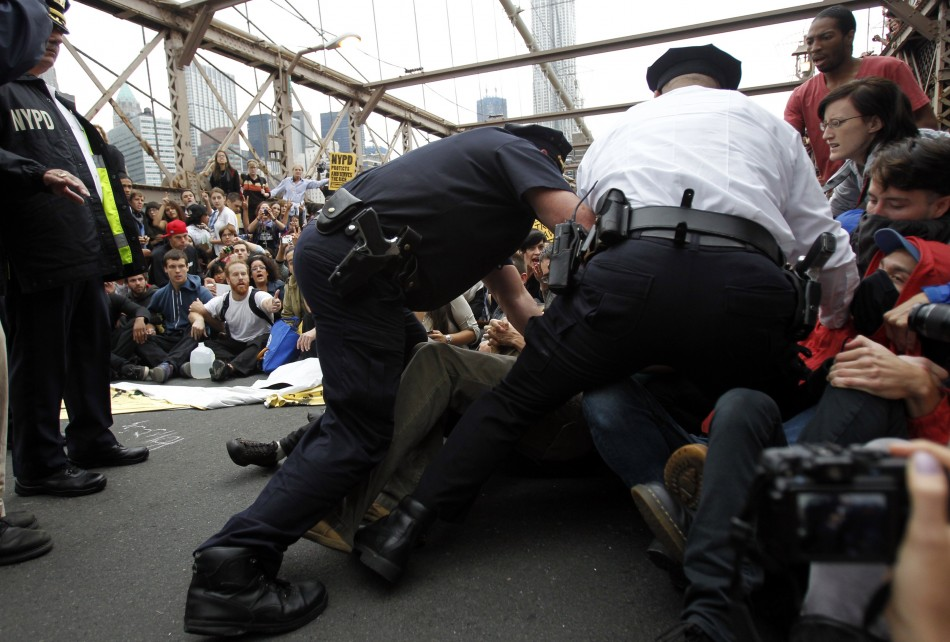 Occupy Wall Street Campaign photos - 07 Oct 2011 2