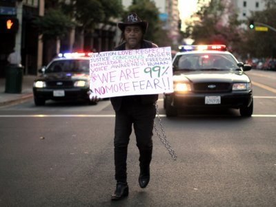 Occupy Wall Street Campaign photos - 07 Oct 2011 3