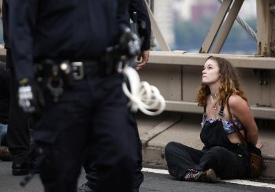 Occupy Wall Street Campaign photos - 07 Oct 2011 5