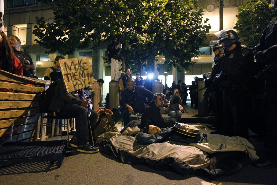 Occupy Wall Street Campaign photos - 07 Oct 2011 6