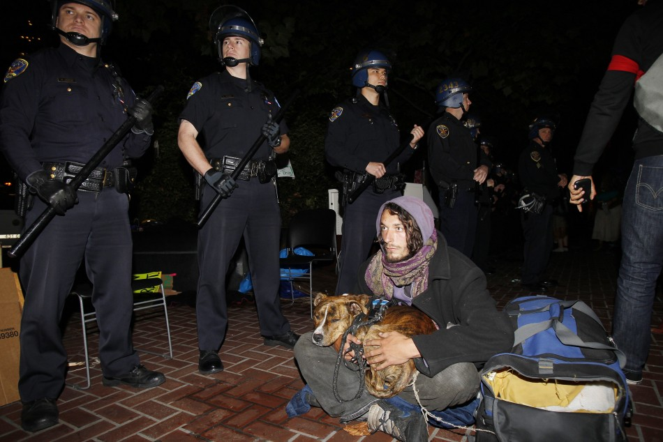 Occupy Wall Street Campaign photos - 07 Oct 2011 7