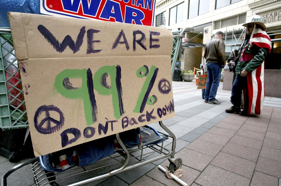 Occupy Wall Street Campaign photos - 07 Oct 2011 8
