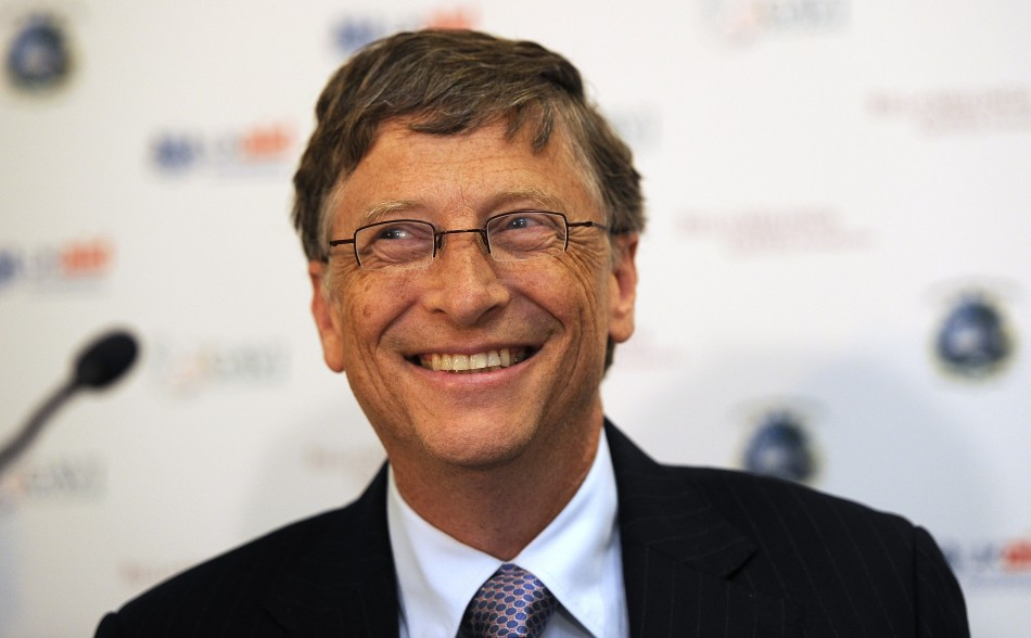 US business magnate Bill Gates is the CEO of IT giant Microsoft. He is also Co-Chair of the Bill & Melinda Gates Foundation, CEO of Cascade Investment and Chairman of Corbis. As of 2011, his net worth has been estimated at $59 billion.