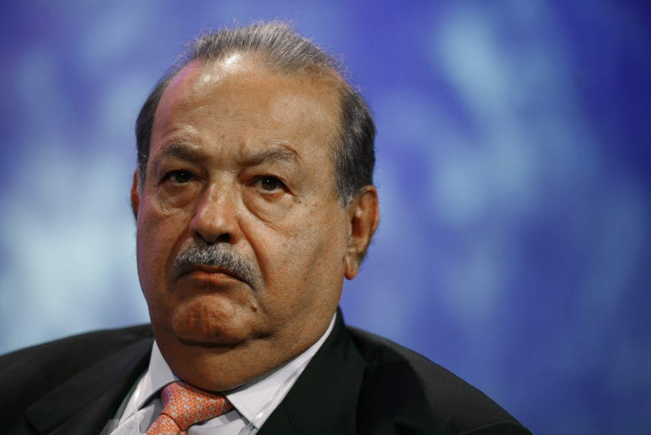 Mexican business magnate Carlos Slim, as of 2011 is the richest man in the world. Chairman and Chief Executives of companies like Telmex and América Móvil. His corporate turnover, as of March 2011, have been estimated at US$74 billion.