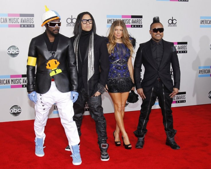 The Black Eyed Peas- Top 20 on Forbes Celebrity 100 List
