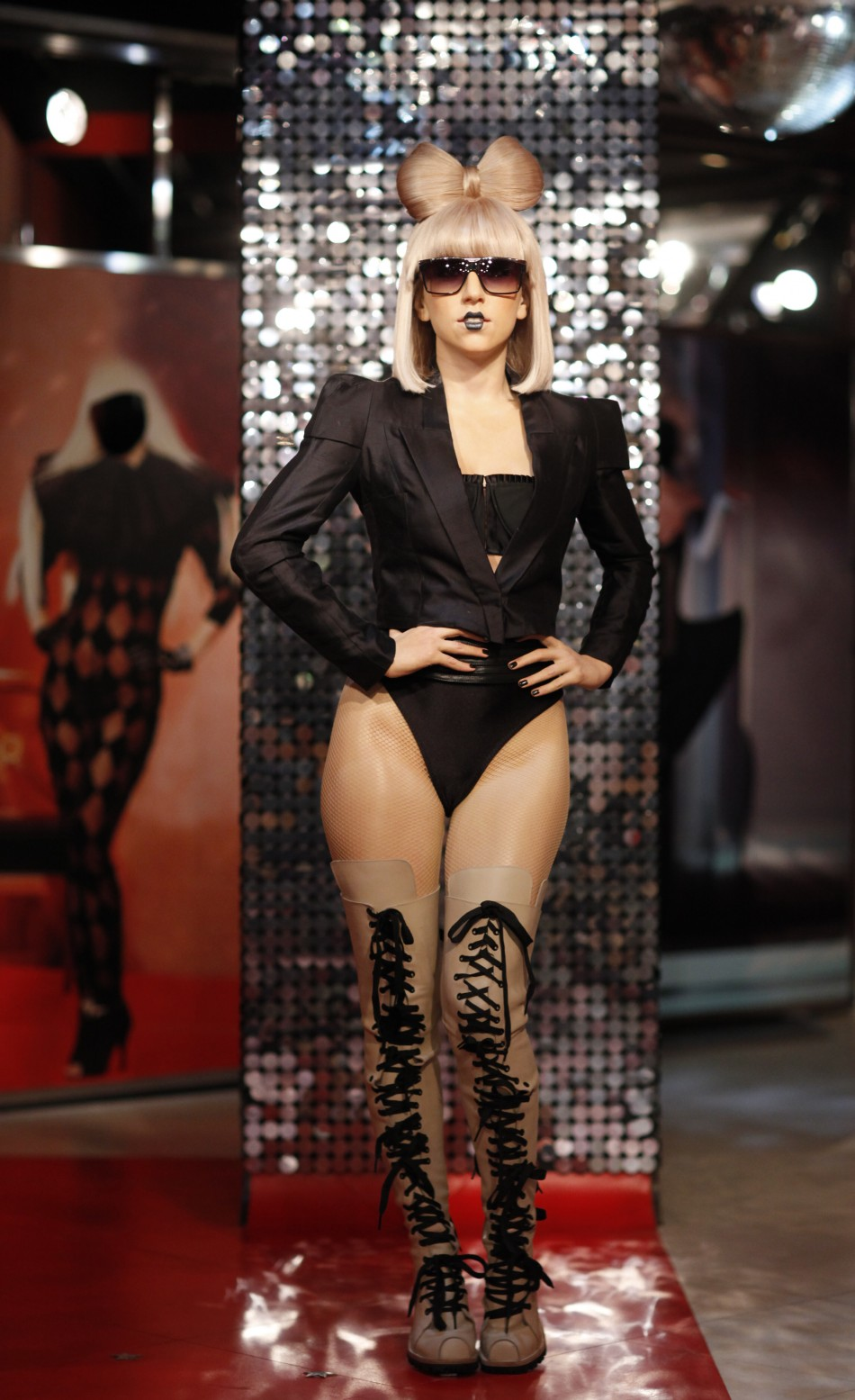 Lady Gaga Wax Figure