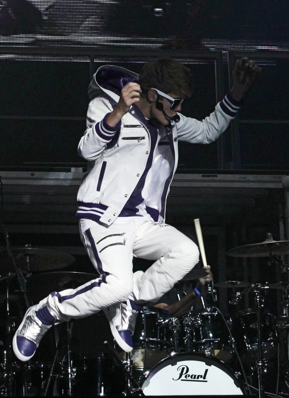 Justin Bieber My World Tour