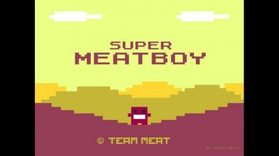 2. Super Meat Boy