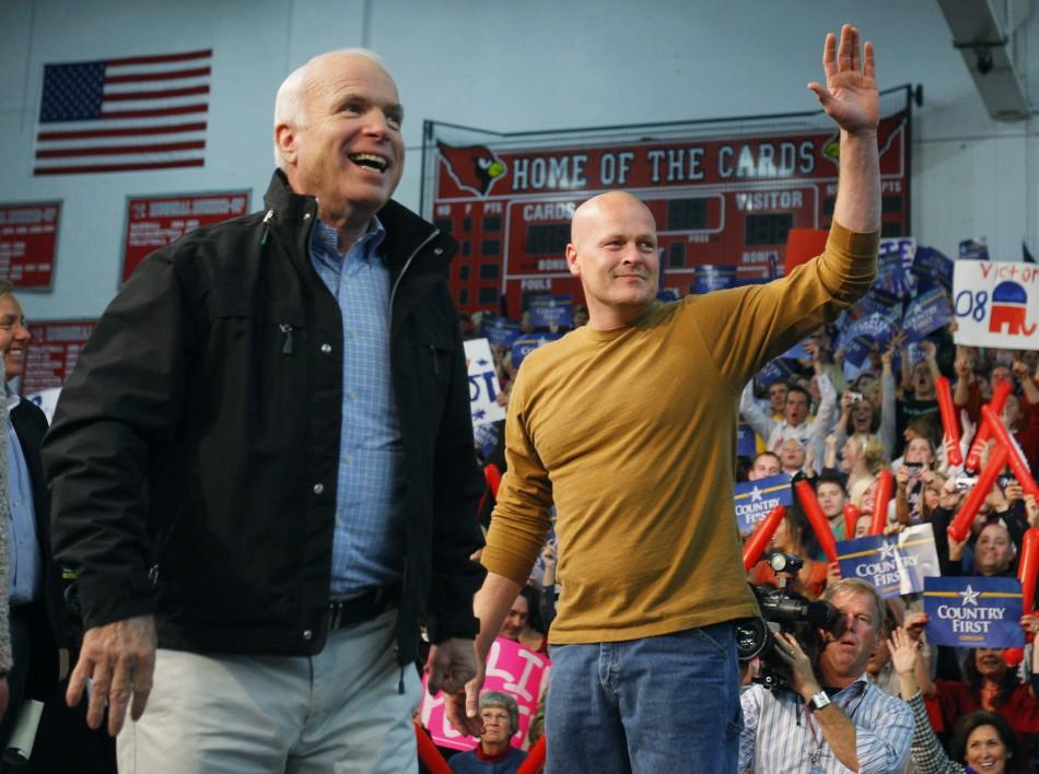 John McCain and Joe the Plumber