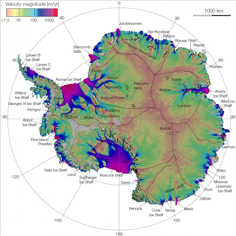 Scientists Map Origin of East Antarctica Mountain Ranges