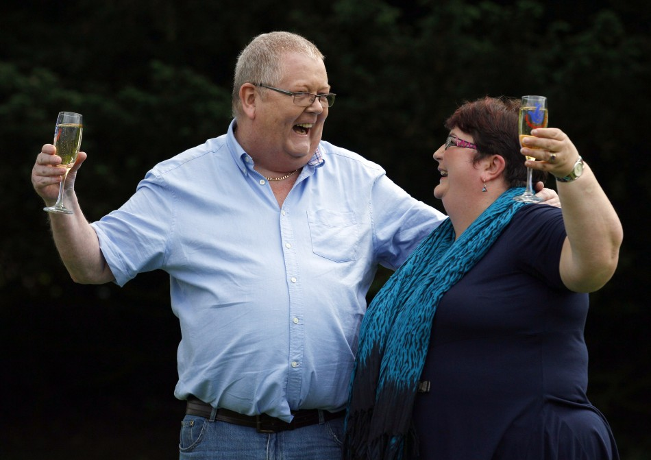 Colin and Chris Weir, from Largs, Scotland won the UK's biggest prize of £161 million earlier this year