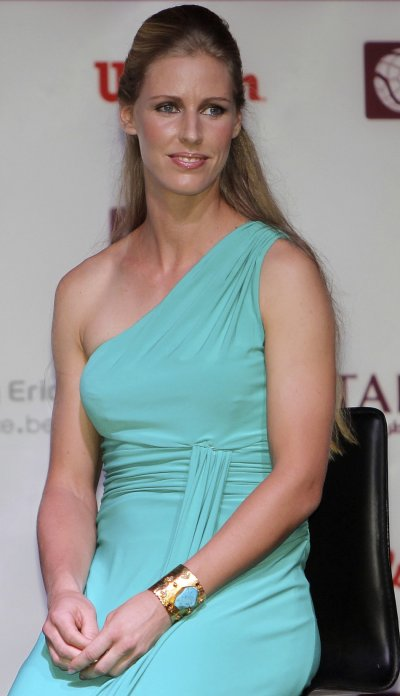 Beautiful Russian babe Elena Dementieva played and won her first international tournament, Les Petit As, in France at the age of 13.