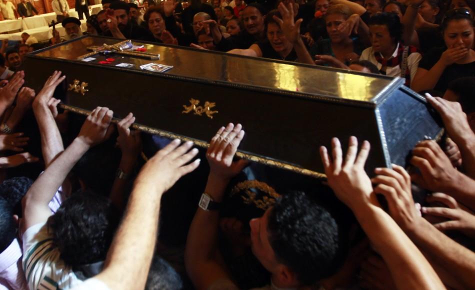 Egyptian Coptic Christians Protest