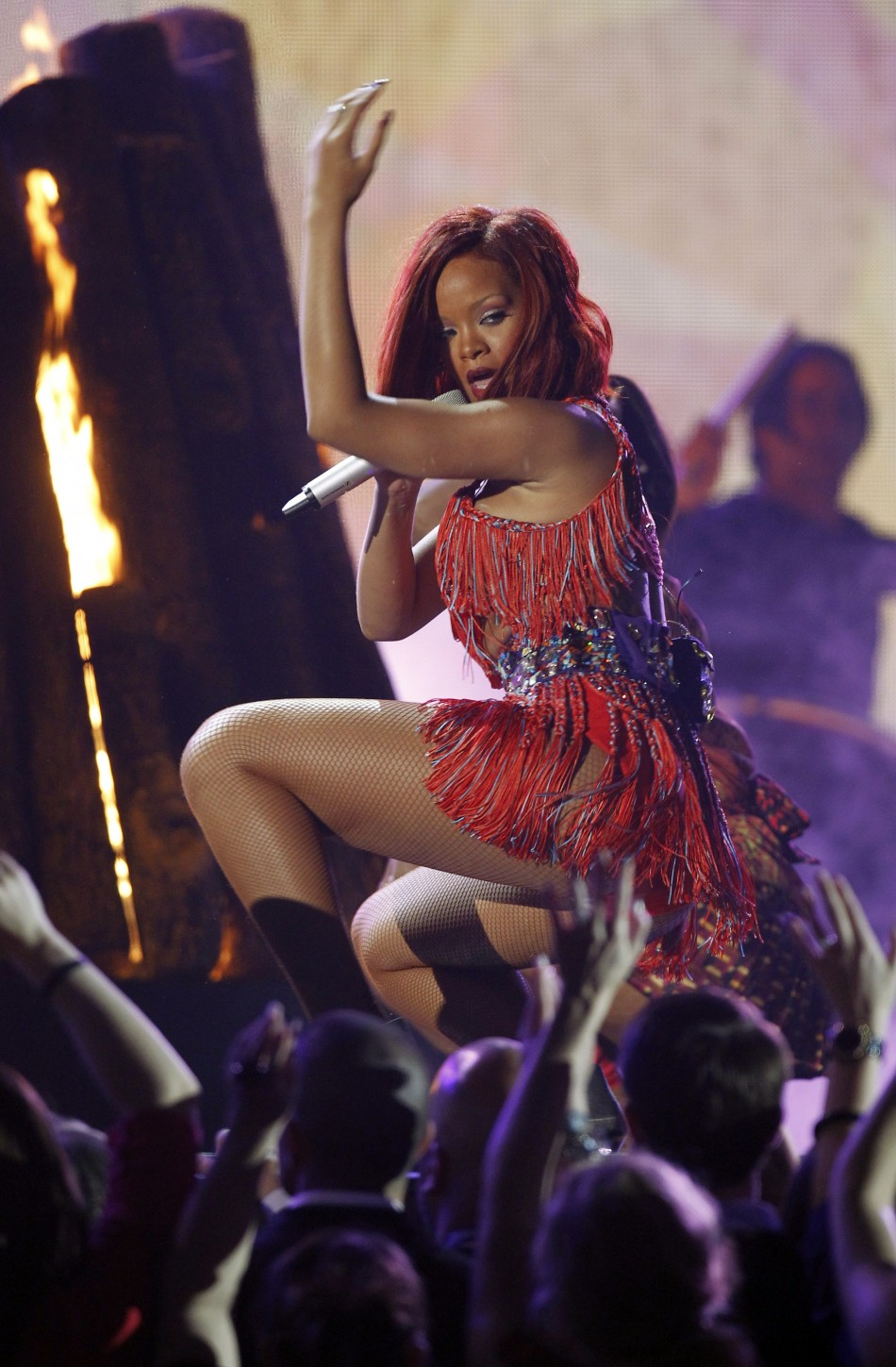Rihanna In Trouble For Repeatedly Touching Lap Dancers At -1530
