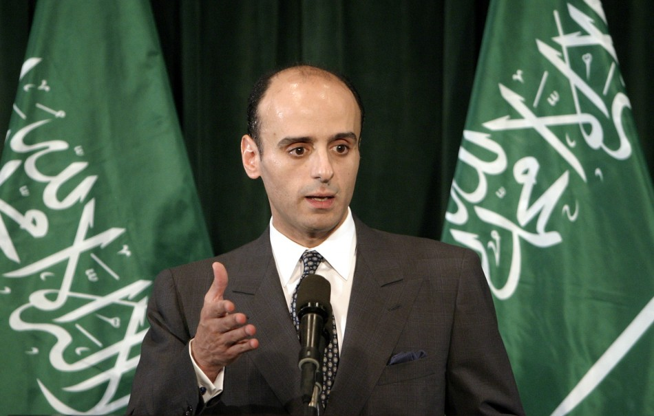 Saudi Arabian ambassador to the U.S., Adel Al-Jubeir.