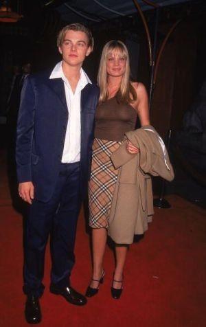 Kristen Zang and Leonardo DiCaprio