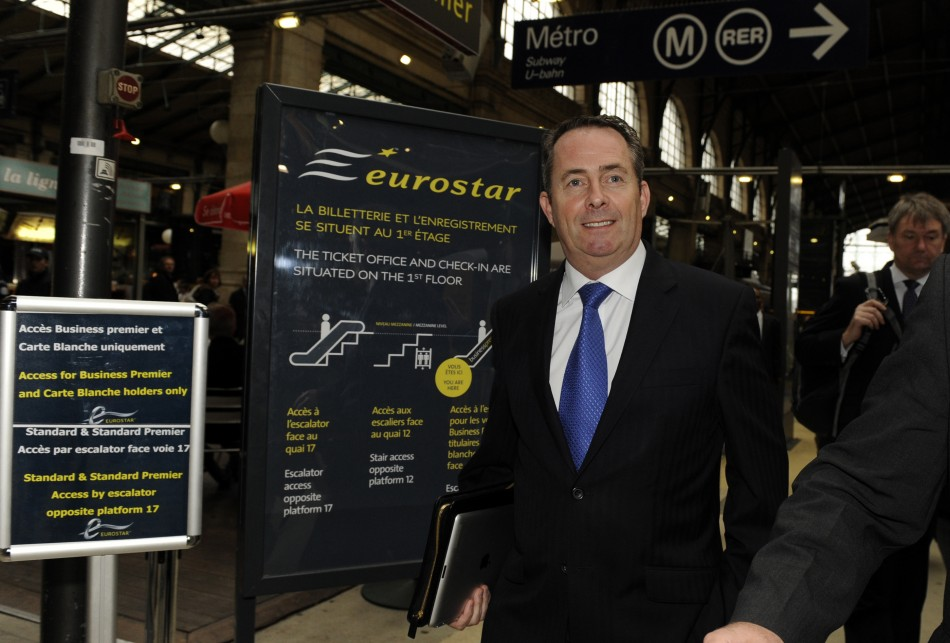 Fox told reporters this morning at St Pancras Station that he would continue to do the job he was being paid to do