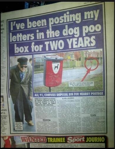 Ive Been Posting My Letters in the Dog Poo Box for Two Years