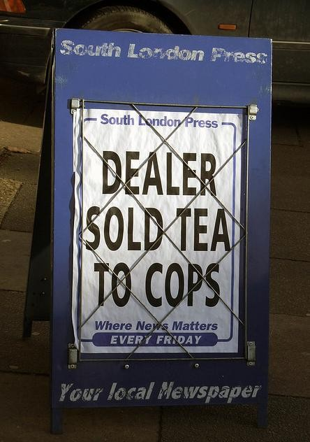 Dealer Sold Tea to Cops