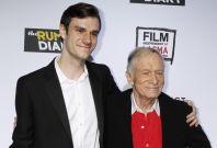 Hugh Hefner and Cooper
