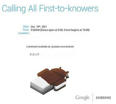 Nexus Prime vs iPhone 4S: Two Days till Samsung Reveals First Ice Cream Sandwich Powered Smartphone