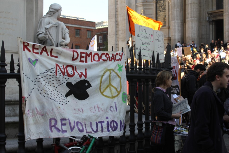 Occupy London: UK Police Search St. Paul's Camp Site for Fire-Arms