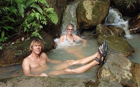 Stefan Ramin and Helke Dorsch in Dominica