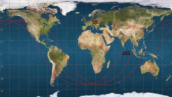 Sample representation based on three consecutive orbits of ROSAT.