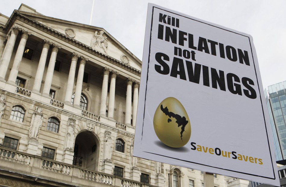 The high inflation figures are causing concern with the public