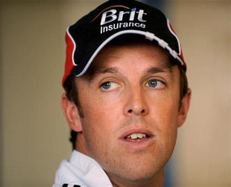 England's Graeme Swann looks on during a news conference at Edgbaston cricket ground in Birmingham