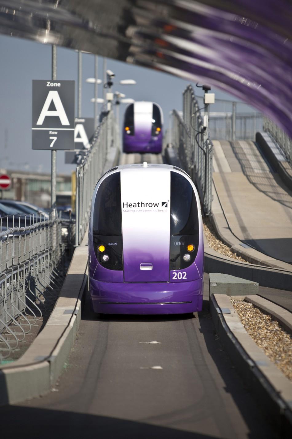 A Heathrow pod