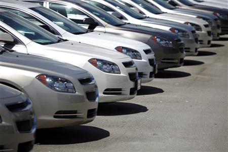 Chevrolet Cars at a Dealership