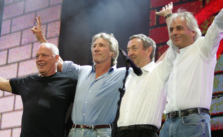 Pink Floyd made a brief return
