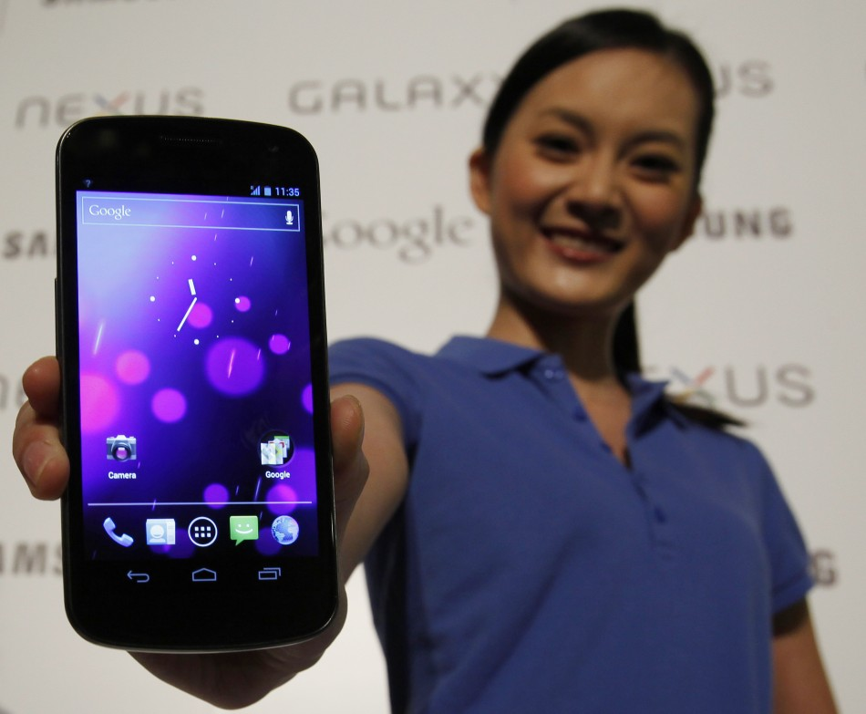 Ice Cream Sandwich, Galaxy Nexus Launch
