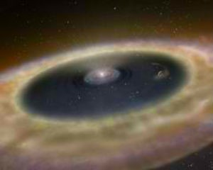 Astronomer finds planet in the process of forming