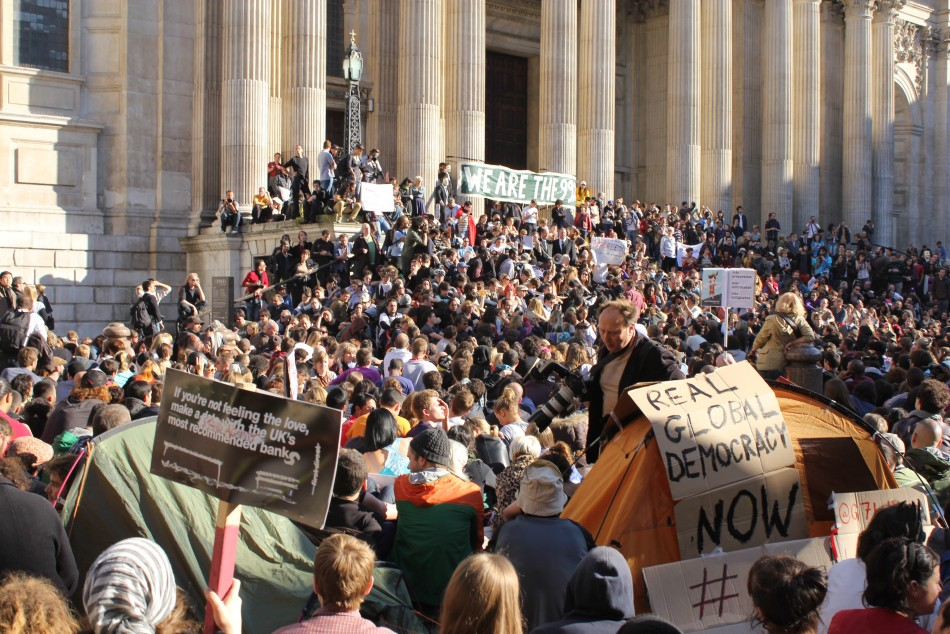 Occupy London: St. Paul's More Concerned About Tourists' Wallets then Protesters in Need?