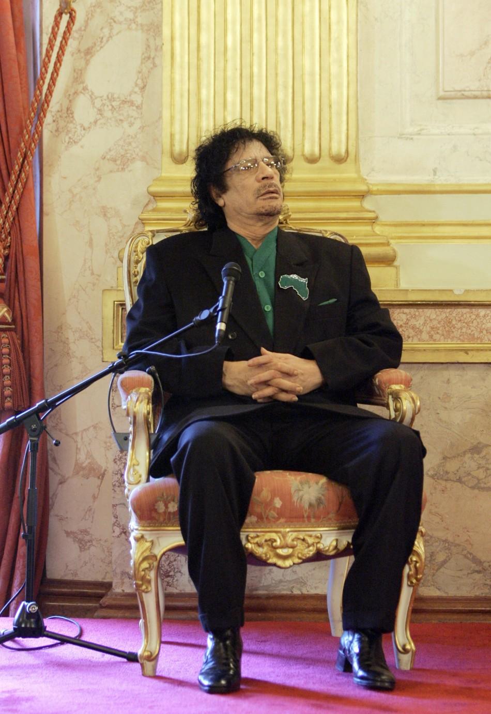 Muammer Gaddafi Dead