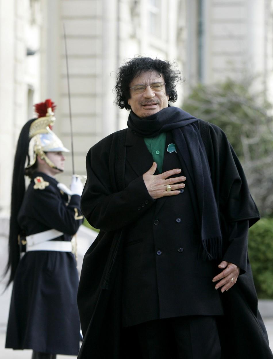 Moammar Gadhafi was captured by Libyan rebel Mohammed El Bibi