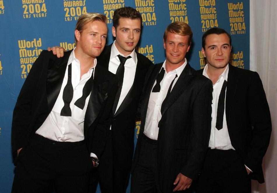 Westlife in 2004