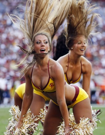Washington Red Skins Cheerleaders