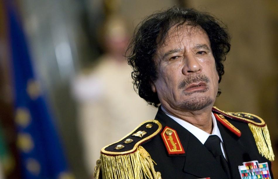 Late Libyan Dictator Col. Moammar Gadhafi