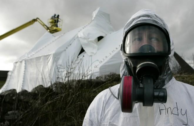 anthrax bio technician