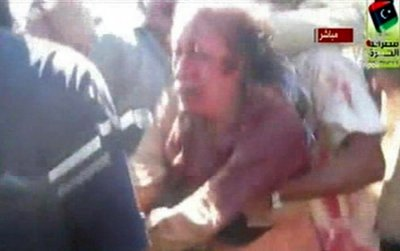 Moammar Gadhafi Dead Final Moments Captured Before the Mad Dog Died GRAPHIC PHOTOS