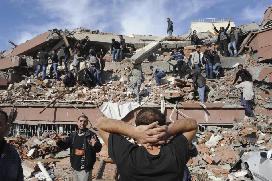 Turkey Earthquake 2011