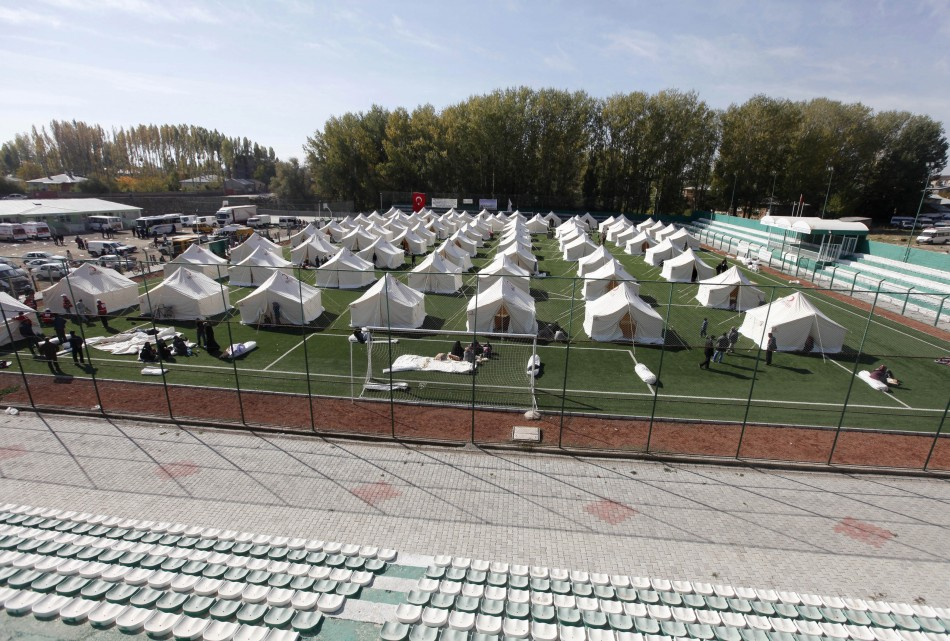 Tent city in Ercis