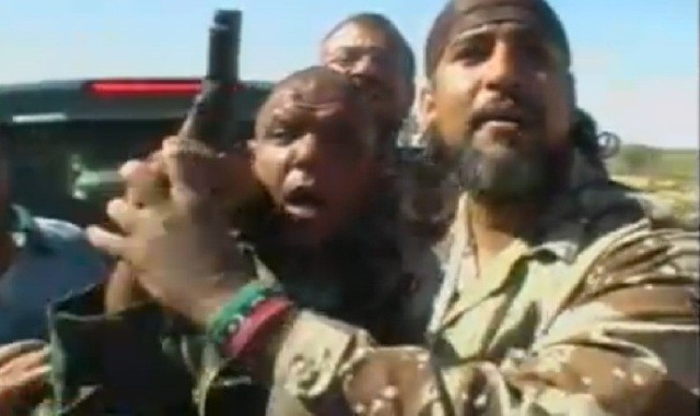 Is this the man who shot Col Gaddafi?