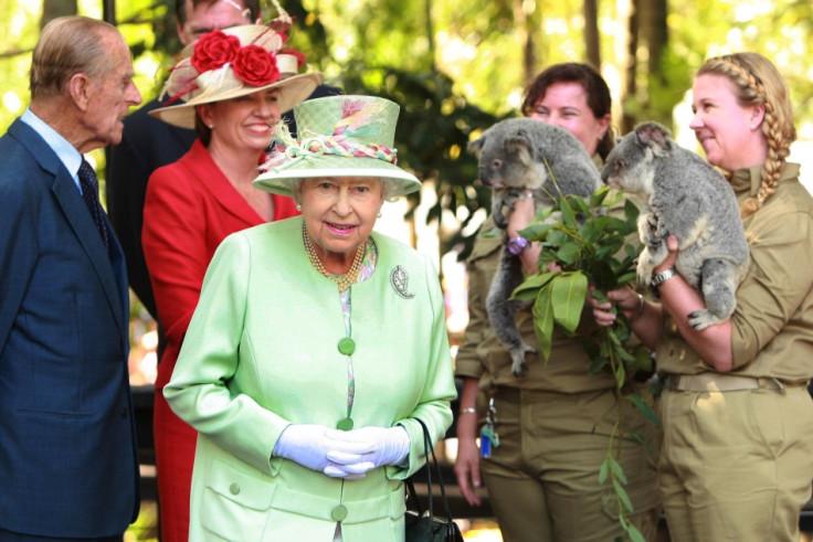 Queen Elizabeth in Australia